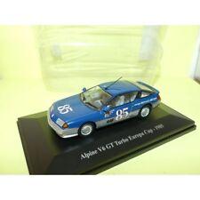 RENAULT ALPINE V6 GT TURBO EUROPA CUP N°85 1985 ELIGOR  1:43