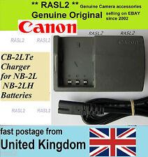 Genuine canon chargeur, CB-2LTe legria hf R16 R17 R18 R106 vixia HG10 HV20 HV30