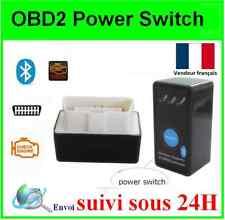 ELM 327 BLUETOOTH Interface POWER SWITCH OBD2 Scanner DIAGNOSTIQUE Multimarques