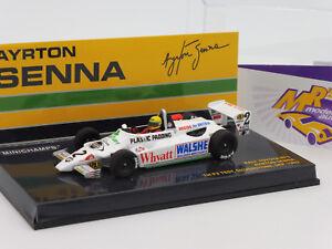 Minichamps 547824392 # Ralt Toyota RT3 1st F3 Test Silverstone Ayrton Senna 1:43
