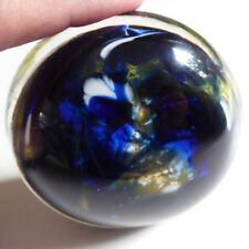 Britain Blue Glass Paperweights