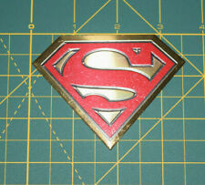 Superman Logo Metallic Sticker DC Comics Originals Decal Brand New