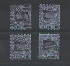 Used Morocco Agencies Stamps