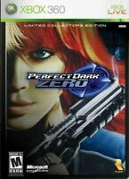Perfect Dark Zero (Collector's Edition) - Authentic Microsoft Xbox 360 Game