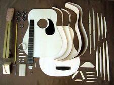 HOSCO GR-KIT-D2 Acoustic Guitar Kit Mahogany Back Side Fast Shipping Japan EMS