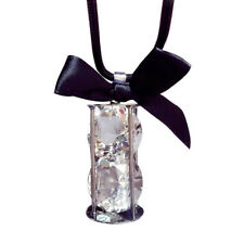 Diamond Cut Crystal Hour Glass Shaped Pendant Necklace Hot Trending Jewelry USA