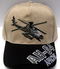 APACHE HELICOPTER AH-64 Cap/Hat U.S. ARMY *Free Shipping*