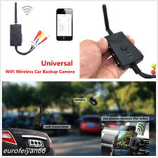Professional Wifi Wireless Car Reverse Backup Camera Video Rearview Transmitter