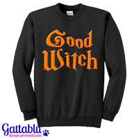 Felpa unisex uomo e donna Good Witch, Strega Buona, Costume di Halloween!