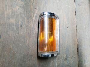 1985-1989 Lincoln Towncar Town Car Driver Left Corner Marker Turn Light AMBER