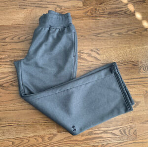 Under Armour Coldgear Running Active Training Sweat Pants Women's Size M Gray