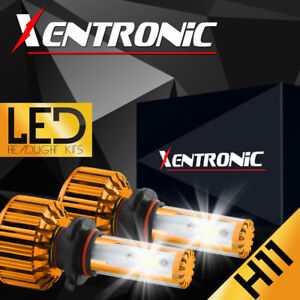XENTRONIC 2X H11 488W 48800LM LED Headlight Bulb HI/LO Beam H8 H9 Kit