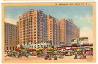 1950 Postmarked Postcard Ambassador Hotel Atlantic City New Jersey NJ