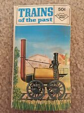 Vintage Trains of the Past Flipout Book Copyright 1970