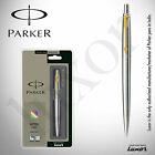 Parker Jotter Stainless Steel GT (Gold Trim) Ball Pen Original New IN BOX PACK.
