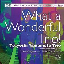 FIM   Tsuyoshi Yamamoto Trio - What A Wonderful Trio CD DXD oop