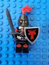 LEGO Castle Dragon Knight Minifigure with armor, shield, & sword Lot 70402 70404