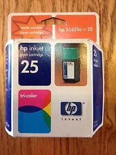 HP Inkjet print cartridge TRI-COLOR 25 (51625a) - EXP 2002