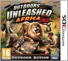 Outdoors Unleashed Africa 3d Nintendo 3ds 12 Hunting Game