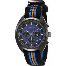 Invicta Men's Watch S1 Rally Chronograph Blue and Black Dial Strap 29993