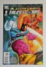 Blackest Night Tales Of The Corps #1A - 2009 - DC 2nd Variant Cover VF-