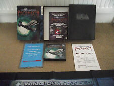 RARE BIG BOX PC GAME / WING COMMANDER PROPHECY  / WITH STAR CHART & MANUAL