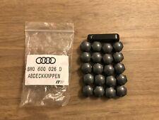 Original Audi Abdeckkappenset (20Stück) für Radschrauben Grau**NEU*OVP**