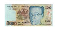 1000 Cruzeiros Reais Brasilien C238 / P.240  Brazil 1993 UNC