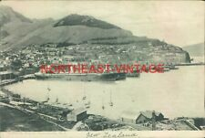 LYTTELTON PORT OF CHRISTCHURCH NEW ZEALAND POSTCARD