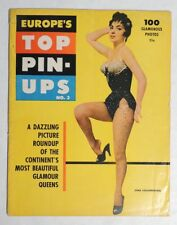 ESZ5568 Vintage: EUROPE'S TOP PIN UPS #3 Magazine Brigitte Bardot & More (1956)
