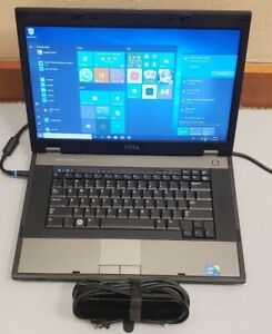 """Dell Latitude E5510 15.6""""  Core i5 M 560 2.67GHz 4GB RAM 320GB HDD WIFI WIN 10"""