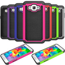 For Samsung Galaxy J2 Prime/Go Prime Phone Shockproof Hybrid Silicone Case Cover