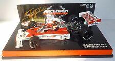 EMERSON Fittipaldi Mclaren M23 modello IN SCALA 1:43rd firmato