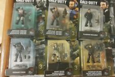 Mega Bloks Construx Call of Duty Heroes Complete Series 3 [all six figures] NEW!