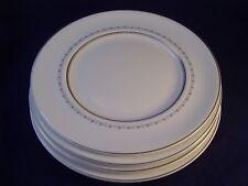 Royal Doulton Tiara Set of 4 Dinner Plates England H. 4915 Retired Bone China B
