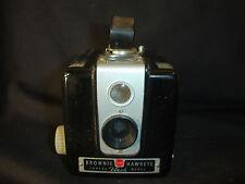 Old Vtg Antique Collectible Kodak Brownie Hawkeye Flash Model Box Camera