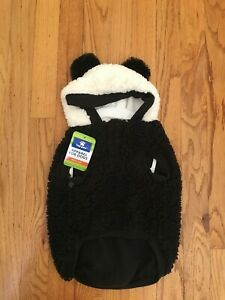 PANDA Costume for Medium Dogs Halloween Costume NEW!-100% to No Kill Pet Shelter