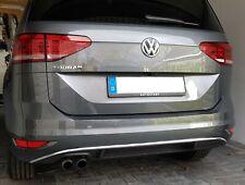 Volkswagen VW Touran 5T ab 2015 3M Chromleisten Zierleisten für Heckstoßstange