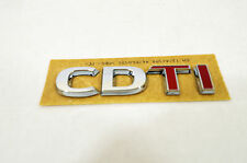 GENUINE VAUXHALL CORSA D CDTI BADGE 93189518 NEW