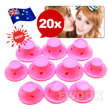 NEW 20PCS Silicone No Heat Hair Curlers Magic Soft Rollers Hair Care DIY 2 Sets