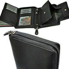 39abc2f690868 AMARI Geldbörse RFID-Schutz 3 Scheinfächer Geheimfach gro Ÿes Schüttfach  Herren