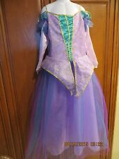 Girls  Witch Costume  Large Size 8-10