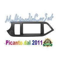 Mascherina Cornice Autoradio 2 Doppio Din Kia Picanto dal 2011 U 3213