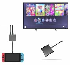 Qumox USB-C à l'adaptateur de sortie HDMI Converter pour Nintendo Switch