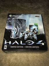 New Sealed Microsoft Xbox 360 S ~ Halo 4 Limited Edition ~ 320GB Blue Console
