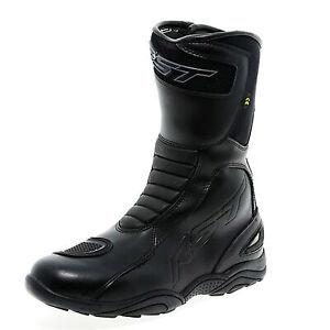 RST Raptor II CE Waterproof Motorcycle Boots Shoes - Black - UK 5