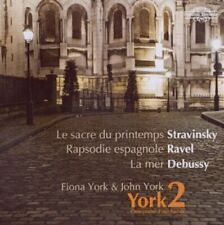 Fiona York and John York - Stravinsky, Ravel, Debussy: One piano, Four hands