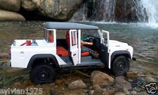 2016 NEW Open Doors 1/10 Land Rover Defender D130 Double Cab PickUp body 334mm