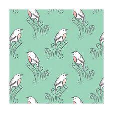 NEW from Camelot fabrics, Little Birds, Bird Song in Dark Aqua, yard