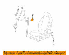 ( 1 ) GENUINE GM 22730276 COVER - Seat Belt Retractor Gray